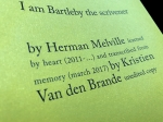 Book - Time has fallen asleep in the afternoon sunshine - Kristien Van den Brande – 2017