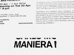 Maniera – 2014